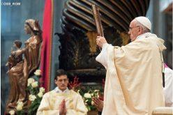 Објавен распоредот за литургиските славења на Папата