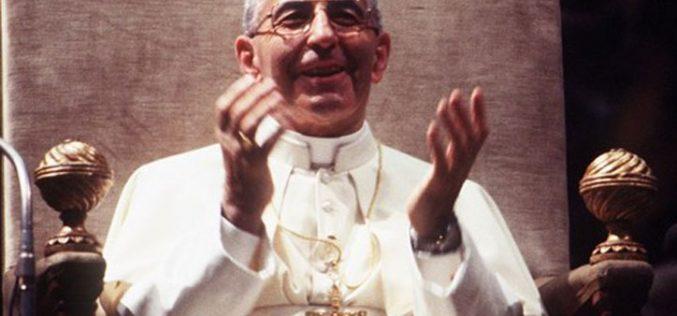 Нова книга за животот на папата Иван Павле I