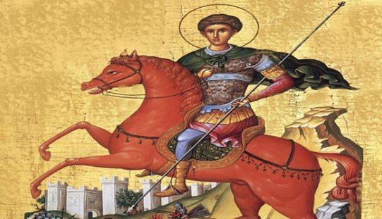 Свети великомаченик Димитриј Солунски
