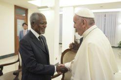 """Папата се сретна со """"Старешините"""""""