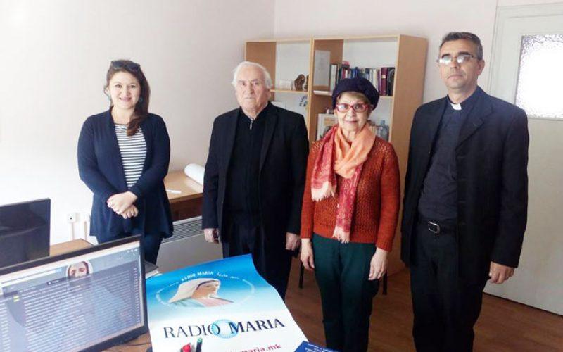 Новиот директор на Радио Марија Македонија ја презеде должноста