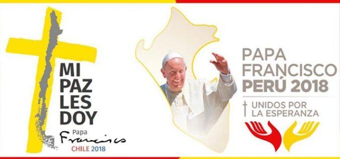 Објавена програмата за посетата на Папата на Чиле и Перу