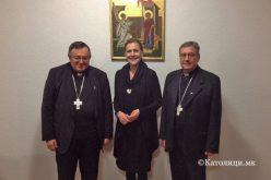 Кардиналот Пулиќ се сретна со амбасадорката на Р. Хрватска во Македонија