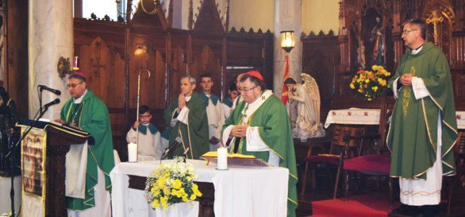 Поздравен говор на Н.В.П. монс. Киро Стојанов до Н. Е. Винко кардинал Пулиќ во Битола