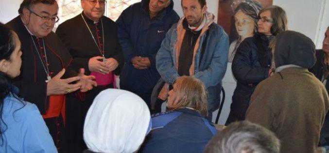 Кардинал Пуљиќ се сретна со корисниците на народна кујна