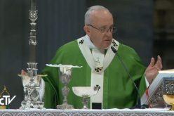 Папата: Сиромашните се нашиот пасош за рајот