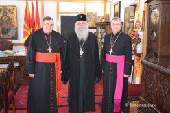 Кардиналот Пуљиќ се сретна со поглаварот на МПЦ – ОА г.г. Стефан