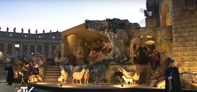 Божиќната пештера на Свети Петар е дар од регионот Кампанија