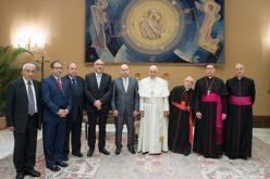 Папата во аудиенција ја прими палестинската делегација