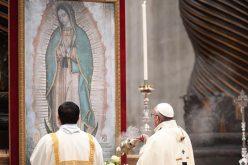 Твитер порака на Папата за празникот на Богородица од Гвадалупе