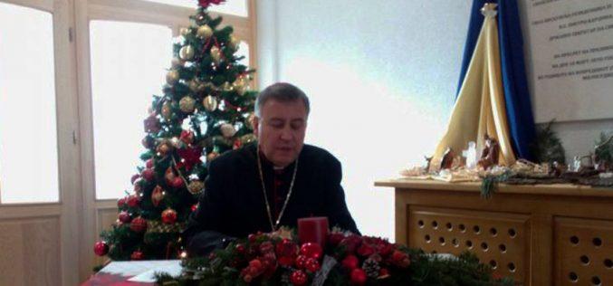 (Видео) Божикна честитка на бискупот д-р Киро Стојанов по повод Христовото Рождество