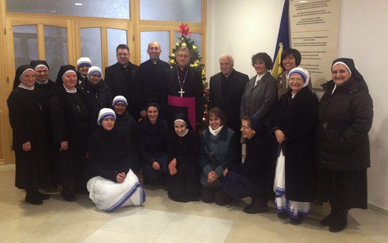 Средба на бискупот Стојанов со Богопосветените лица од Скопје