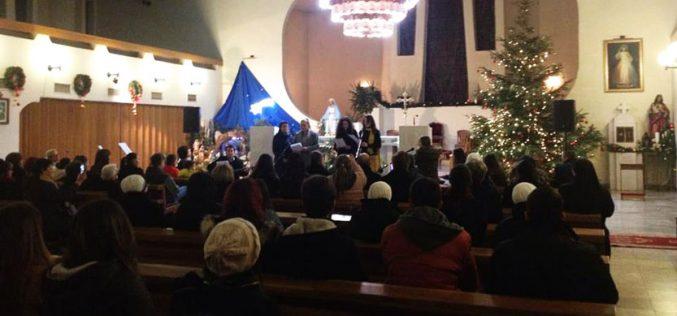"""Божиќен концерт на бендот """"Агапе"""" во Скопската катедрала"""