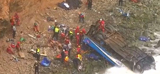 Папата жали за жртвите од сообраќајната несреќа во Перу