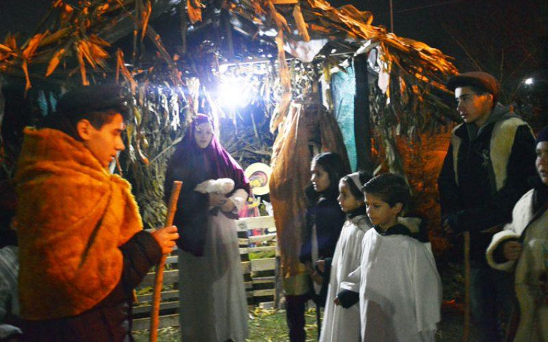 """Рождество Христово во парохијата """"Свети Иван Крстител""""- Струмица"""