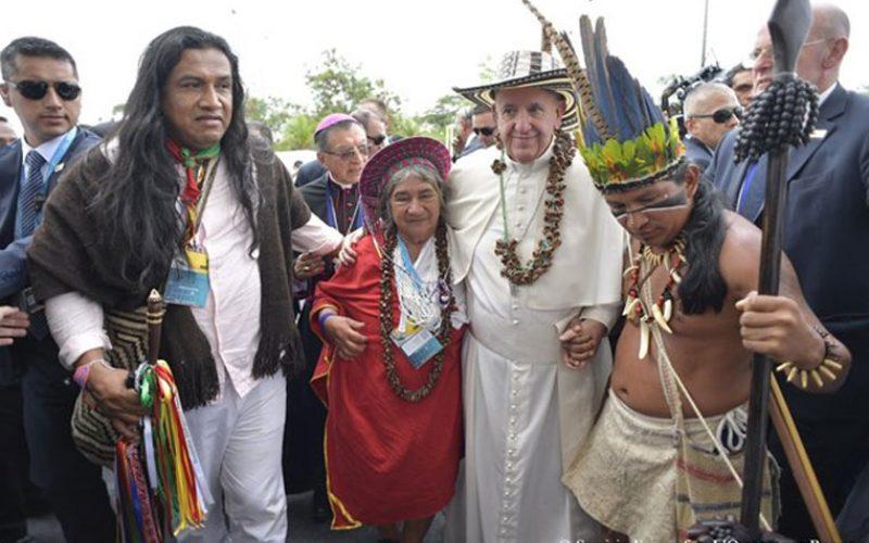 Папата Фрањо во срцето на Амазонија