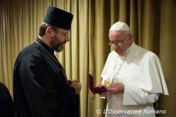 Папата во Рим ќе се сретне со украинската заедница