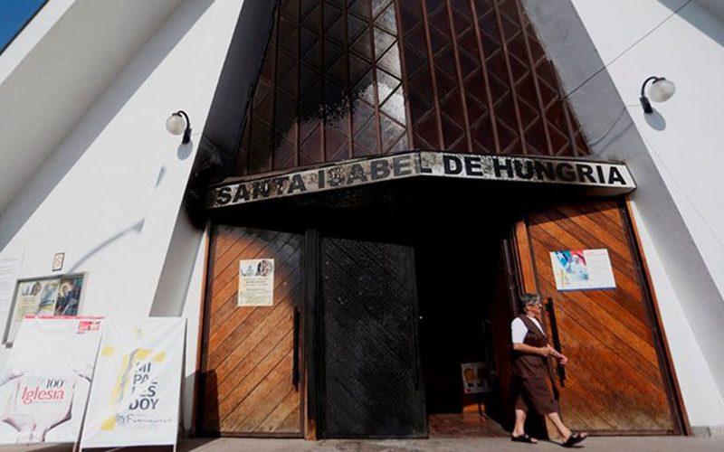 Сантијаго: Напад на цркви пред посетата на Папата