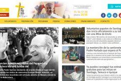 Официјална интернет страница за посетата на Папата на Чиле