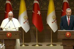 Папата Фрањо ќе го прими турскиот претседател Ердоган