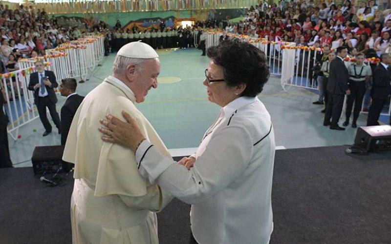 Папата во Чиле: Посета на женскиот затвор Сан Жоакин