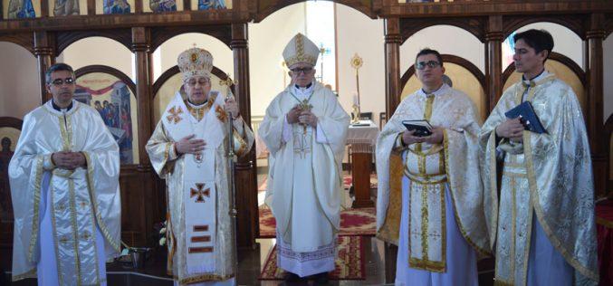 На Богојавление епископот Стојанов служеше света Литургија во Струмица во заедништво со Апостолскиот нунциј Пекорари