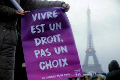 Марш за живот во Париз