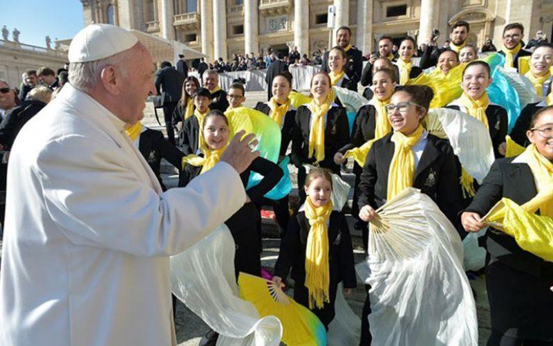 Папата на Генералната аудиенција потсети на посетата на Чиле и Перу