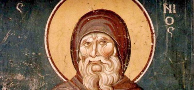 Поучна приказна од животот на свети Антониј Пустиник
