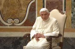 Почесниот папа Бенедикт XVI: Јас сум на ходочастие кон Дома