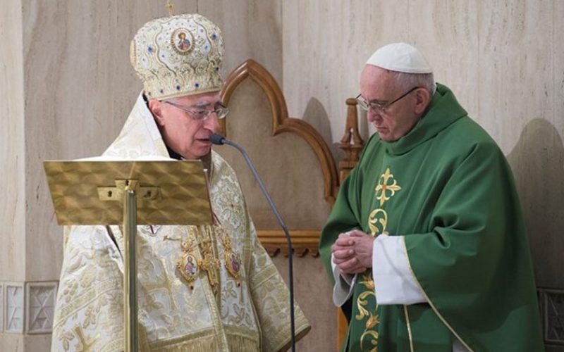 Папата и Антиохискиот патријарх се молат за прогонуваните христијани