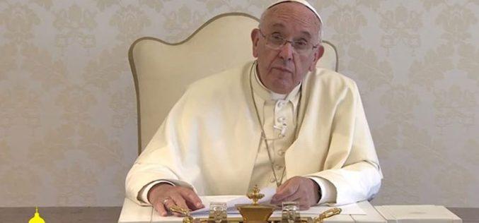Папата испрати порака до бразилскиот народ