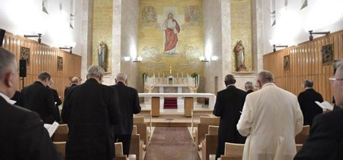 Духовни вежби за Папата: Препознајте ја својата жед за Бог