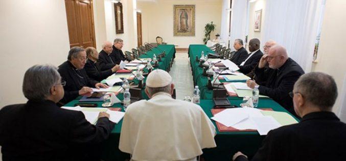 Прв состанок на папата Фрањо со Кардиналскиот совет во 2018