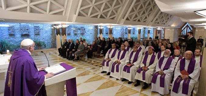 Папата: Молитвата бара храбрости трпеливост