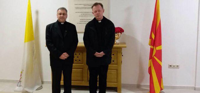 Бискупот Стојанов го прими о. професор Станушиќ