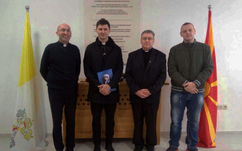 Бискупот Стојанов го прими о. Туралија