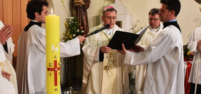 Бискупот Стојанов служеше Воскресна Миса во Скопје
