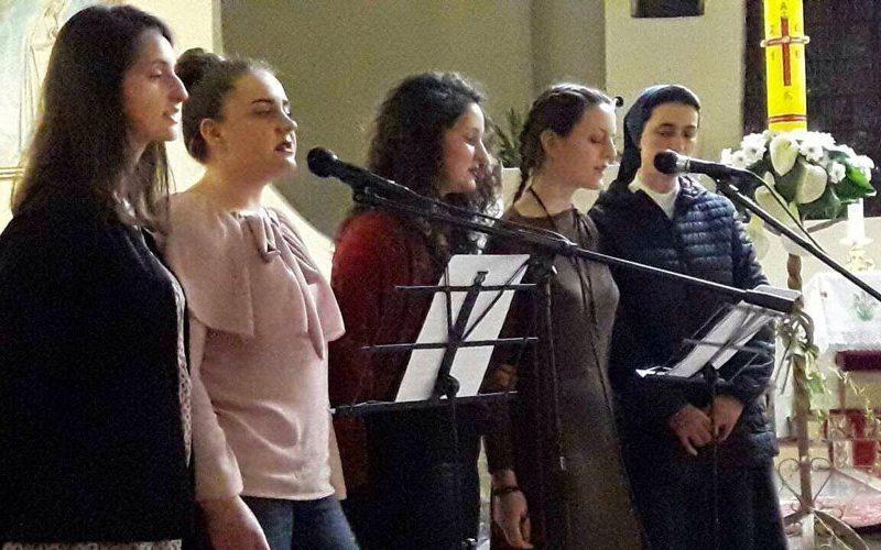 Велигденски концерт на бендот Агапе во Скопската катедрала
