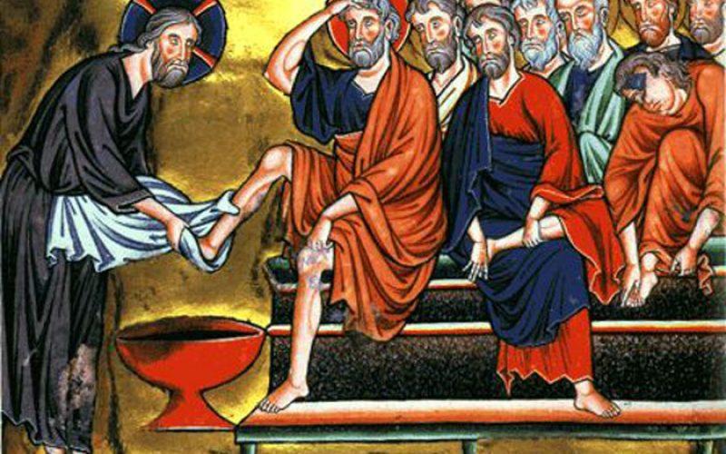 Велики Четврток: Евхаристија и служба…
