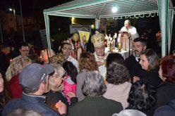 На празникот Воскресение Христово владиката Стојанов служеше Литургија во Струмица