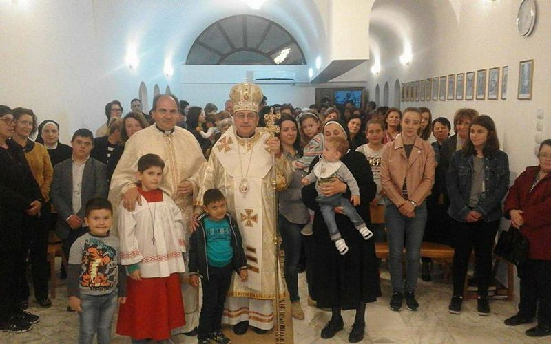 Владиката Стојанов служеше Литургија во Гевгелија