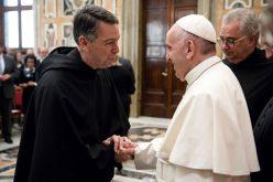 """Папата ја прими делегацијата од универзитетот """"Виланова"""""""
