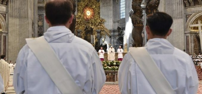 Папата до новите свештеници: Бидете милосрдни