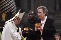 Папата ги повика посветените лица на молитва, сиромаштво, трпеливост