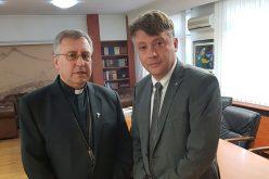Бискупот Стојанов се сретна со градоначалникот Шилегов