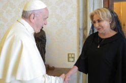Папата ја прими премиерката на Романија
