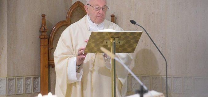 Папата Фрањо: Нашата судбина е да живееме како Исусови пријатели