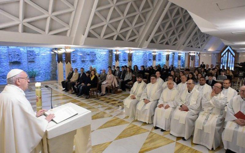 Папата: Вистинското единство нека биде наша цел