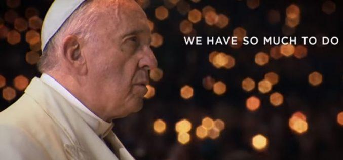"""Документарниот филм """"Папата Фрањо – човек од збор"""" доаѓа во кината во САД"""